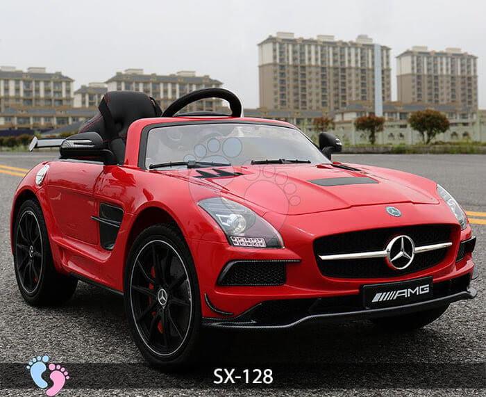 Xe hơi điện trẻ em SX-128 ghế da 15