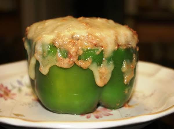 Eggplant Stuffed Bell Pepper Recipe