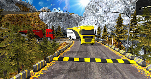 Euro Truck Uphill Simulator for Android apk 2
