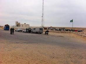 Photo: Mauritania border
