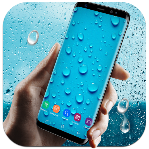 Running Waterdrops Live Wallpaper file APK for Gaming PC/PS3/PS4 Smart TV