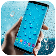 Running Waterdrops Live Wallpaper & Launcher