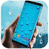 Running Waterdrops Live Wallpaper