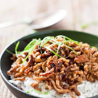 Vietnamese Caramelised Pork Bowls.