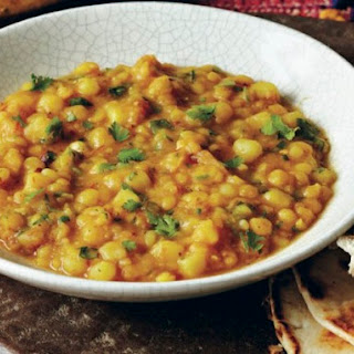 Smoky Yellow Split Peas (Tamatar Chana Dal) from 'Indian Cooking Unfolded'