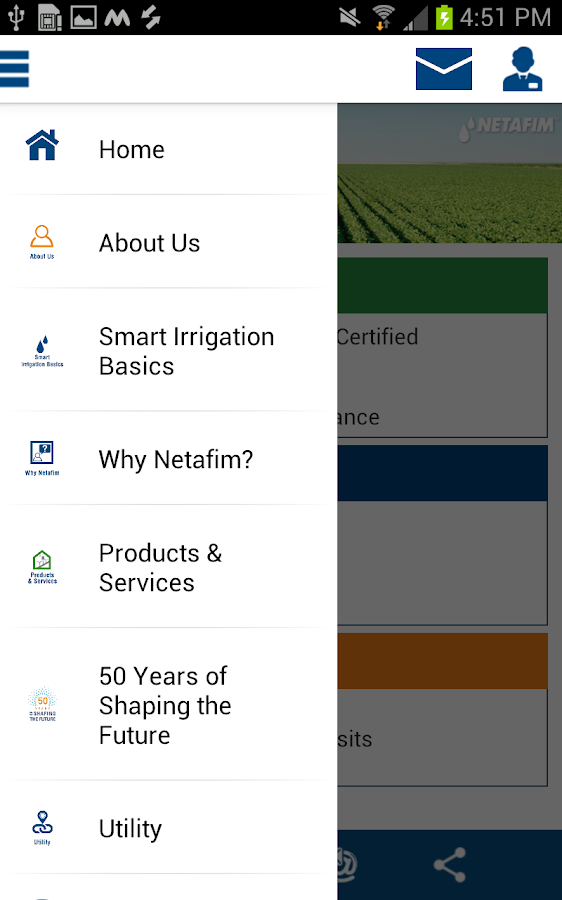 Netafim India- screenshot
