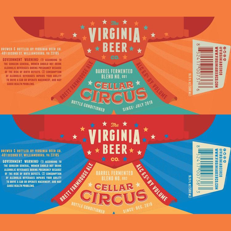 Logo of Virginia Beer Co. Cellar Circus // Blend No. 002