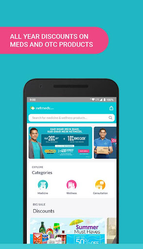 Netmeds App – India's Trusted Online Pharmacy App screenshot 3