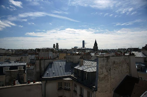 st germain roof view
