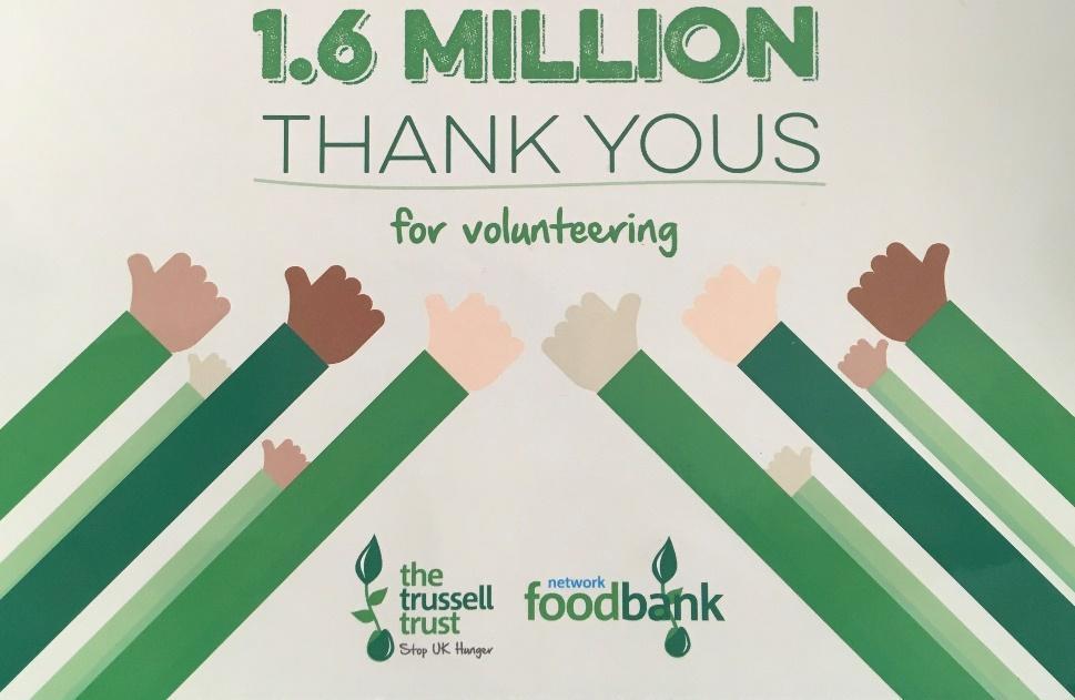 Foodbank Thank you Card