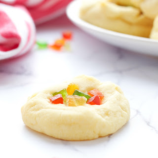 Whipped Shortbread Holiday Cookies.