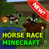Horse Racing map for MCPE
