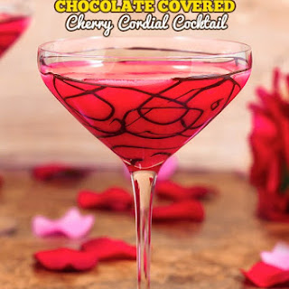 Chocolate Covered Cherry Cocktail.