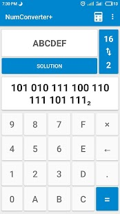 Numeral Systems: Calculator + Converter - náhled