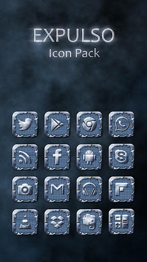 Expulso Icon Pack Theme