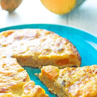 Pumpkin Spanish Omelet.
