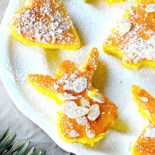 Moist Mini Orange & Saffron Cakes.