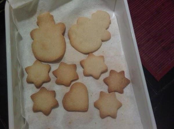 Shortbread Butter Cookies Recipe