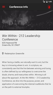 212 Leadership Conference- screenshot thumbnail