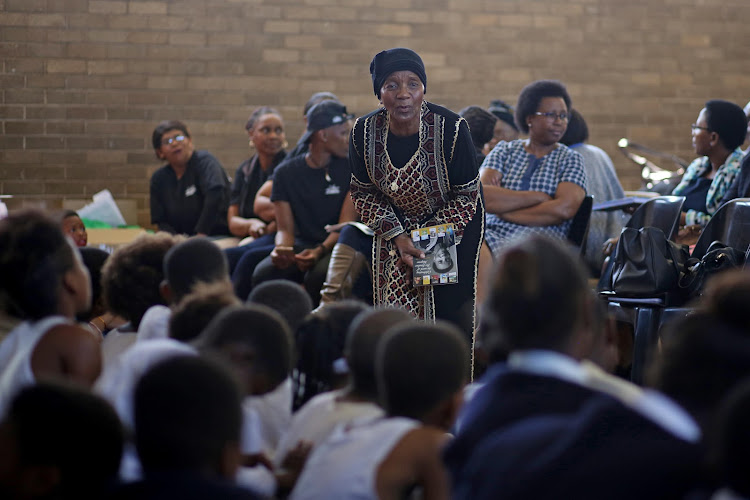 Award-winning SA author and long-time literacy activist Sindiwe Magona has created modernised retellings of noxious children's rhymes.