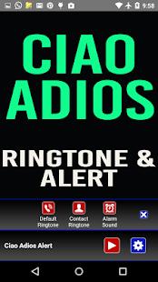 Ciao Adios Ringtone and Alert - náhled