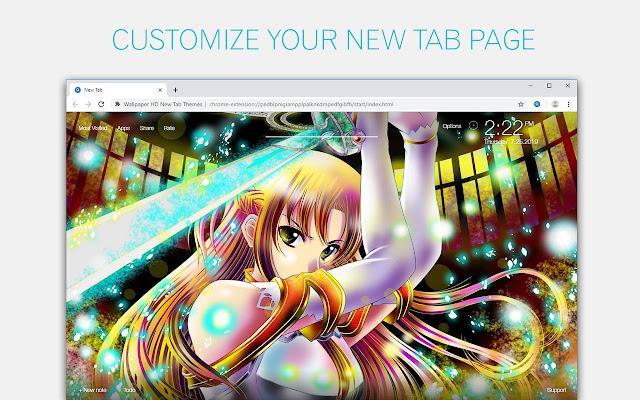 Anime Girl Wallpaper HD Anime Girls New Tab