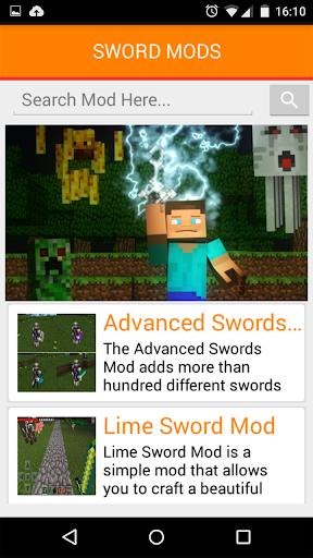免費下載娛樂APP|SWORD MODS For MCPE app開箱文|APP開箱王