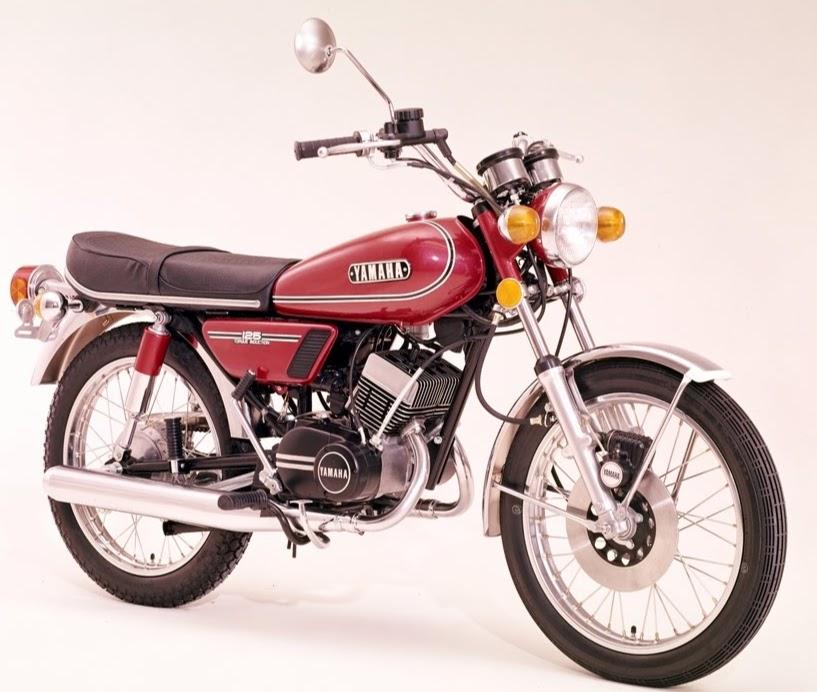 Yamaha RD 125-manual-taller-despiece-mecanica
