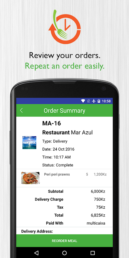 TUPUCA - Food Delivery- screenshot