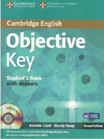 PDF+CD+CDROM] Cambridge English Objective Key Student's Book with