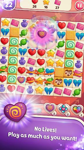 Sweet Hearts - Cute Candy Match 3 Puzzle  screenshots 1