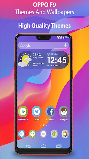 Download Themes for Oppo f9, Launcher theme pro wallpaper on