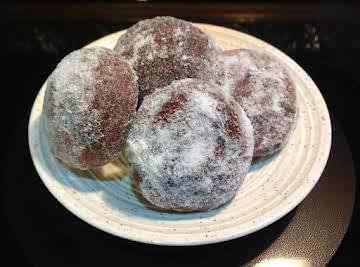 Fudge Ball Cookies
