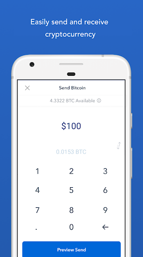 Coinbase u2013 Buy and sell bitcoin. Crypto Wallet for Android apk 4