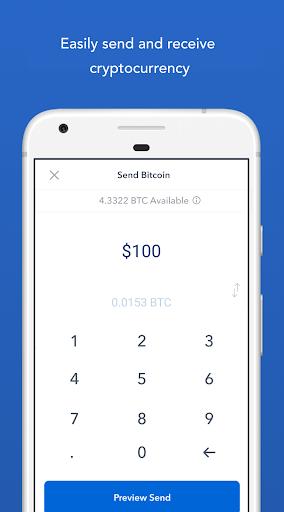 Coinbase - Buy Bitcoin & more. Secure Wallet. 5.5.1 screenshots 4