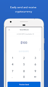 Coinbase – Buy and sell bitcoin. Crypto Wallet 4