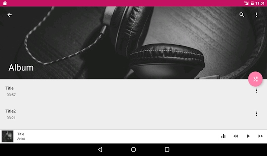 Music Player Equalizer Pro Screenshot