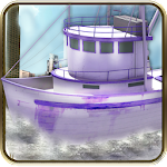 3D Boat Parking Simulator Icon