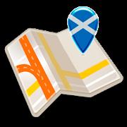 Map of Scotland offline