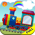 Train Games for Toddler Kids Age 2+ icon