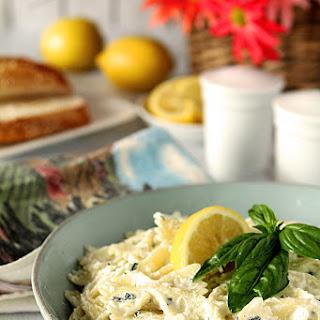 Ricotta, Lemon and Basil Pasta