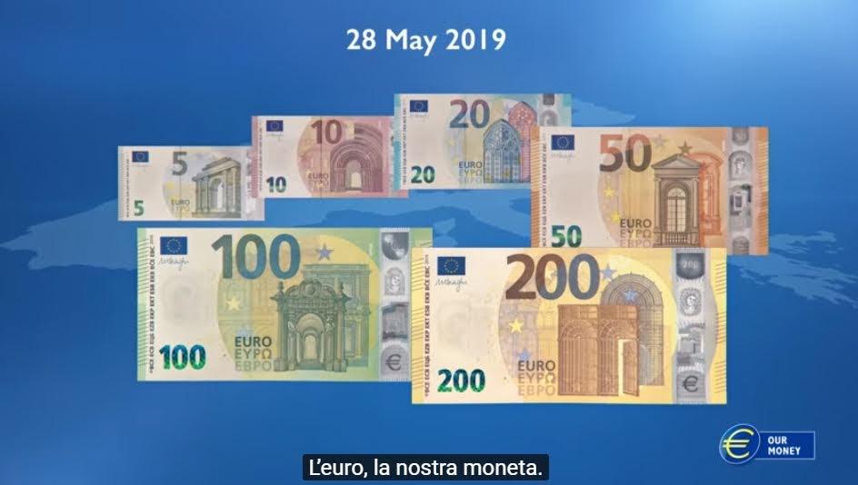 """Le banconote delle serie """"Europa"""""""