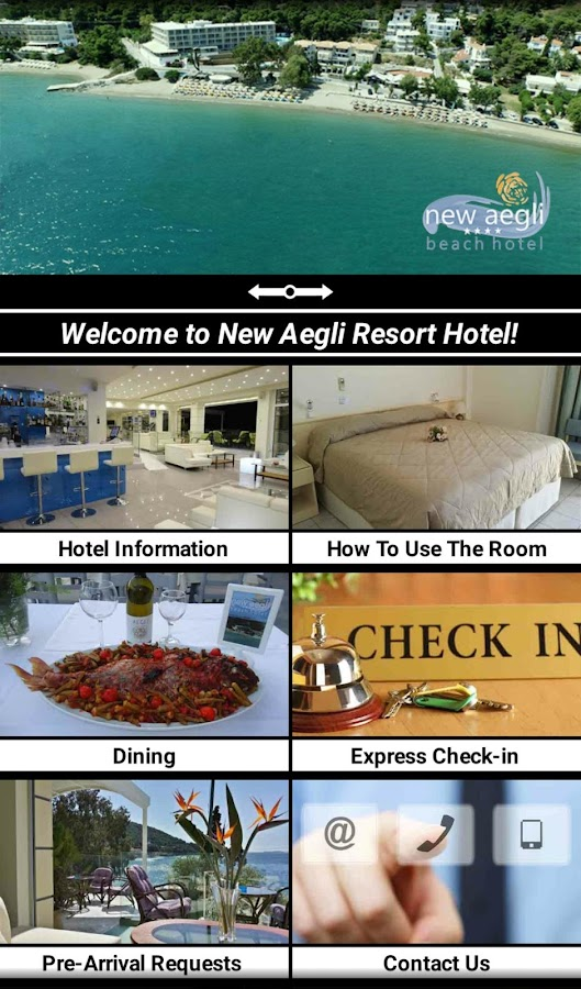 New Aegli Hotel Poros- screenshot