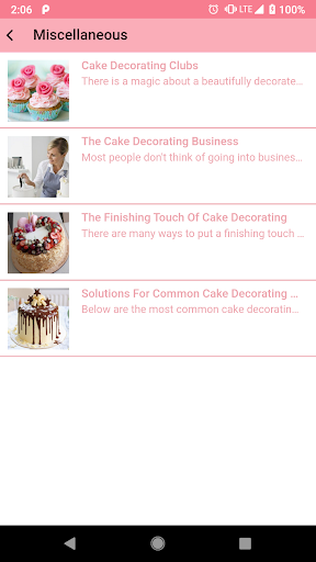 Easy Cake Decorating Ideas App Report on Mobile Action - App