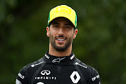 Daniel Ricciardo has accepted the fact that he's going to have to give hugging a rest when the 2020 F1 season resumes in July.
