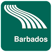 Barbados Map offline
