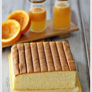 Orange Ogura Cake.