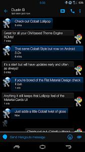 Cobalt Lollipop - CM12 Theme v1.2.0