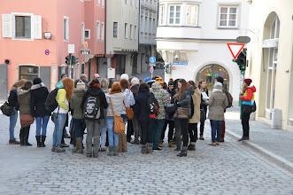 Photo: Centrum Regensburgu v úterý ráno 2. dubna 2013.