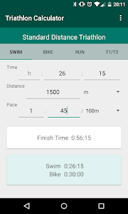 Triathlon Calculator: Pace for Swim/Bike/Run 이미지[4]